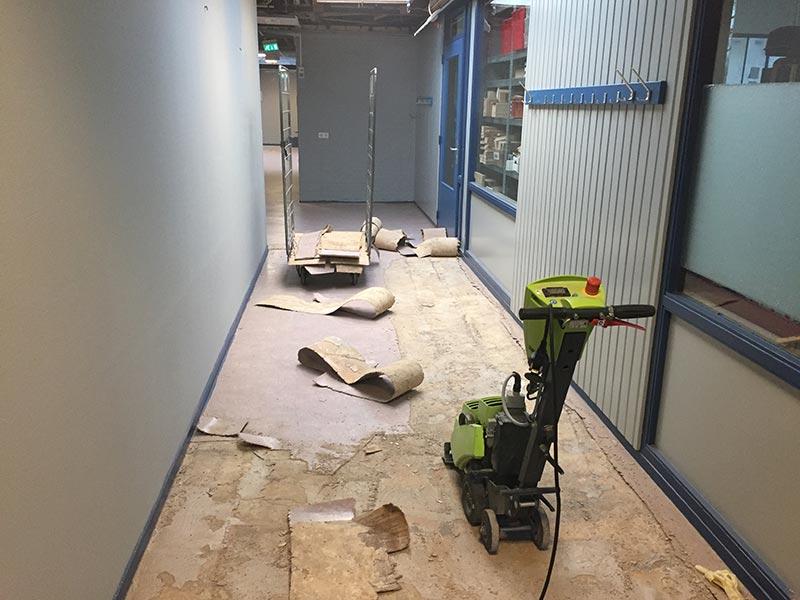 Linoleum vloer verwijderen linoleum verwijderen en vloer